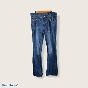 Aeropostale Men's 32X32 Slim Fit Boot Cut Jeans